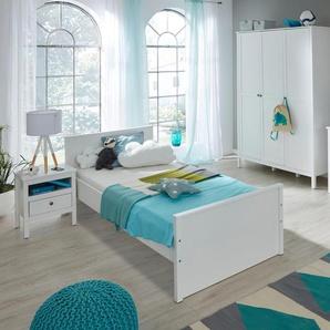 Jugendzimmer-Set , weiß, »Ole«, FSC®-zertifiziert, trendteam