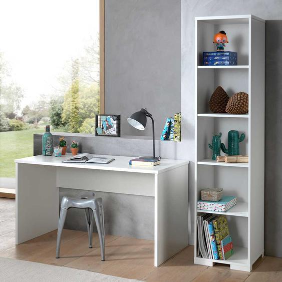 Jugendzimmermöbel in Weiß modern (2-teilig)