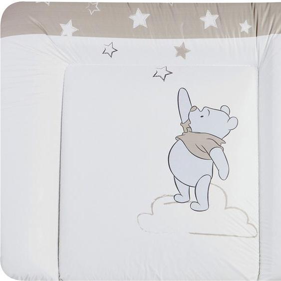 Julius Zöllner Wickelauflage Softy - Pooh mein Stern, Made in Germany B/L: 85 cm x 75 weiß Baby Wickelauflagen wickeln