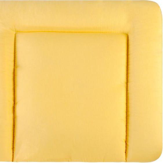 Julius Zöllner Wickelauflage Softy - uni gelb, Made in Germany B/L: 85 cm x 75 gelb Baby Wickelauflagen wickeln