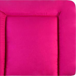 Julius Zöllner Wickelauflage »Softy - uni pink« (1-tlg), Made in Germany