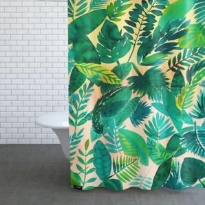 Jungle Leaf-Duschvorhang