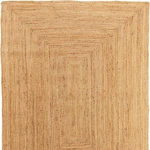 Juteteppich Jutta Hellbraun 120x170 cm