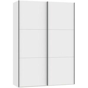 Jutzler: Schwebetürenschrank, Holzwerkstoff, Weiß, B/H/T 152,2 220 65