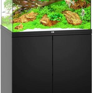 JUWEL AQUARIEN Aquarien-Set Lido 200 LED, BxTxH: 71x51x145 cm, l, mit Unterschrank B/H/T: 71 cm x 65 51 l schwarz Aquarien Aquaristik Tierbedarf