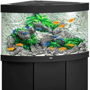 JUWEL AQUARIEN Aquarien-Set Trigon 190 LED + SBX 190, BxTxH: 98,5x70x133 cm, l, mit Unterschrank B/H/T: 98,5 cm x 60 70 l schwarz Aquarien Aquaristik Tierbedarf