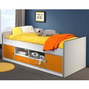 Europäisches Einzelrahmenbett mit Schubladen