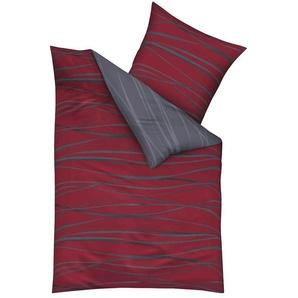 Kaeppel Wendebettwäsche »Motion«, 135x200 cm, rot