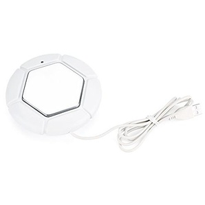 Kaffee Becher Wärmer, Portable USB Cup Desktop Kaffeetasse Becher Wärmer Getränkeheizung Tray Pad(Weiß)