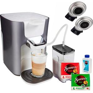 Kaffeepadmaschine HD6574/20 Latte Duo, silber, Senseo