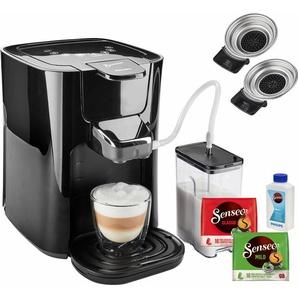Kaffeepadmaschine HD6570/60 Latte Duo, schwarz, Senseo