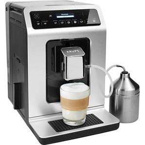 Kaffeevollautomat EA891D Evidence Metal Espresso-Vollautomat silber, Krups