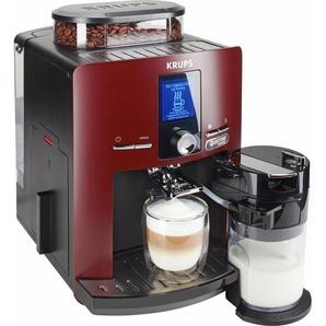 Kaffeevollautomat EA829G LattEspress Quattro Force rot, Krups