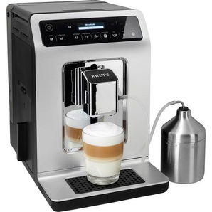 Kaffeevollautomat EA891C Evidence Chrome Espresso-Vollautomat silber, Krups