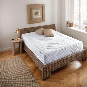 my home 7 Zonen Kaltschaummatratze »ProVita De Luxe Top KS«, weiß, 0-80 kg, 1x 80x190cm