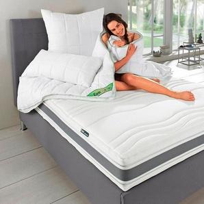 Kaltschaummatratze »Punktoflex De Luxe KS«, fan Schlafkomfort Exklusiv, 22 cm hoch, Raumgewicht: 40, mit Greenfirstbezug gegen Milben