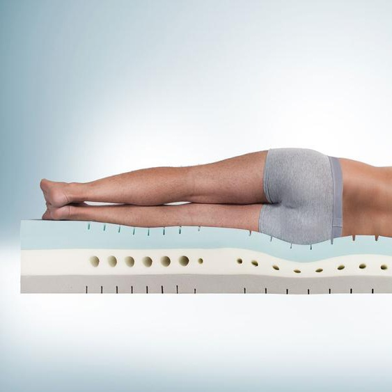 Kaltschaummatratze youSleep 800, 80x200 cm, H3 bis 120kg, mittelfest