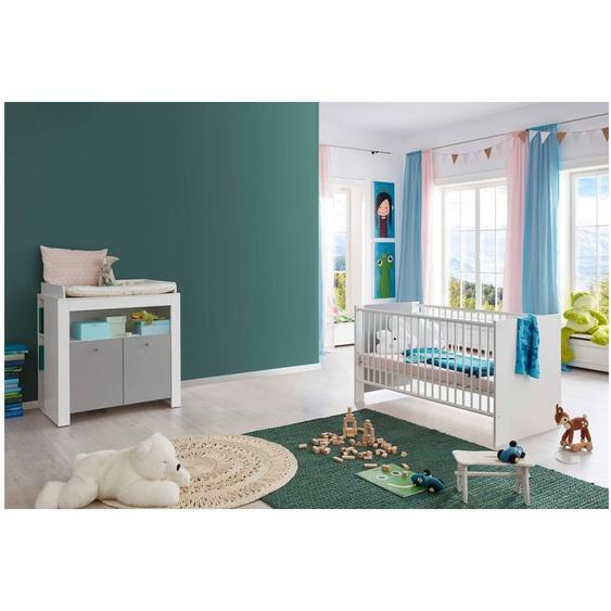 Kamali Kinderzimmer-Set Weiß Grau