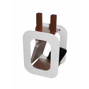 Kaminbesteck Cube 2 Teile Weiß Beschichtet Kamin Besteck Modern Eckig
