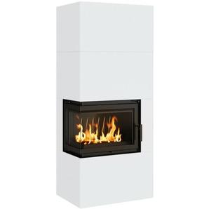 Kaminofen Holzofen 8kw Fertig Kamin Kratki Home Simple Box Stahl Weiß