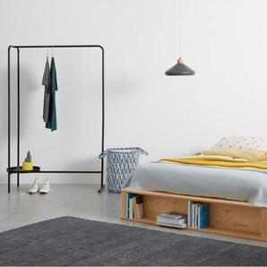 Essentials Kano Holzbett mit Stauraum (160 x 200 cm), Pinie