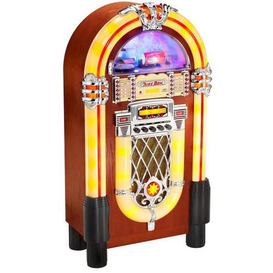Karcher JB 6604 Jukebox mit Lichtshow - MP3 & CD-Player - Radio - USB / SD / MMC