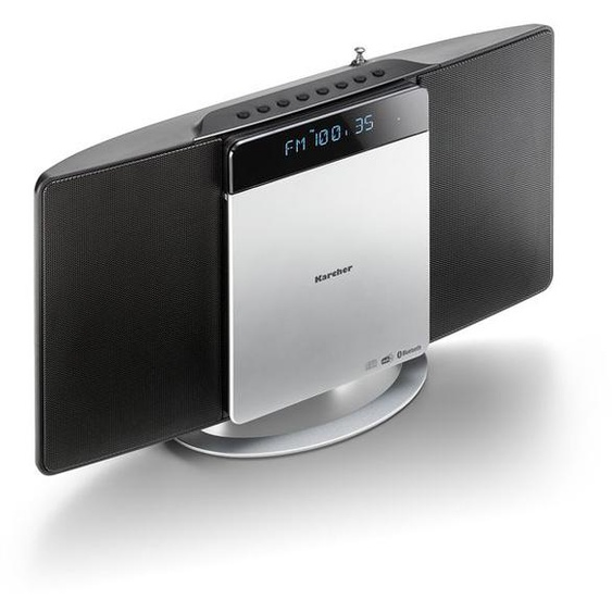 Karcher MC 6580D vertikale Kompaktanlage mit CD Player, UKW / DAB+ Radio & USB