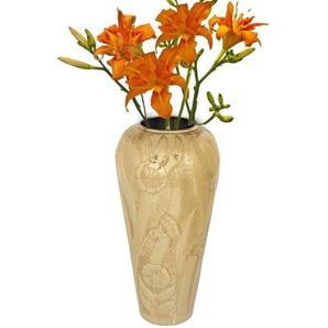 KARE Dekovase »Vase Victoria Gold 63cm«