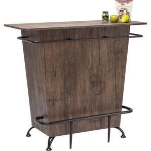 Kare Design Bar Lady Rock Walnut B120xT54xH104