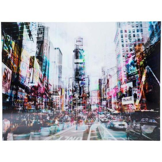 Kare-Design Bild , Mehrfarbig , Glas , 160x120x4 cm
