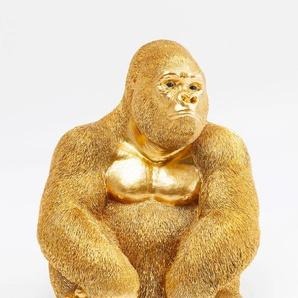 KARE Deko-Figur, Gold, Kunststoff