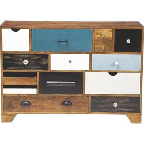 Kare-Design: Kommode, Pappel, Mehrfarbig, B/H/T 114 80 35