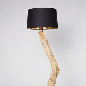 KARE Stehlampe, Natur, Holz