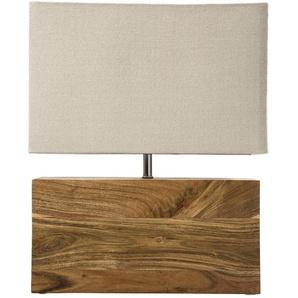 Kare-Design: Tischleuchte, Beige, B/H/T 33 43 10