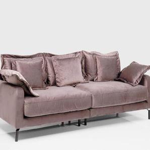 KARE Sofa, Taupe, Stoff