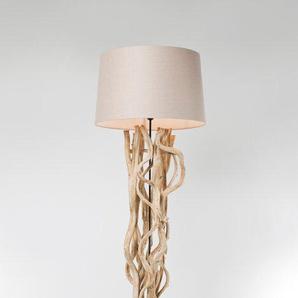 KARE Stehlampe ,Braun ,Holz