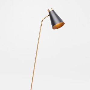 KARE Stehlampe, Schwarz, Metall