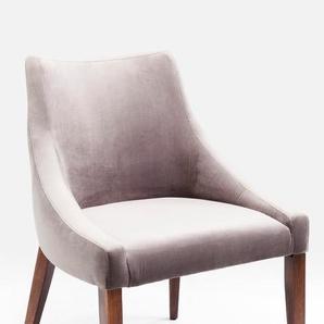KARE DESIGN Stuhl, Grau, Stoff