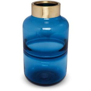 KARE DESIGN Vase, Blau, Glas