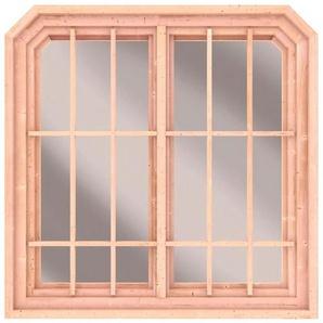 KARIBU Fenster BxT: 126x127 cm, für Pavillon Roma