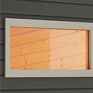 KARIBU Fenster BxT: 44x85 cm, 38 mm