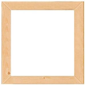 KARIBU Fenster BxT: 57x57 cm, 14 mm