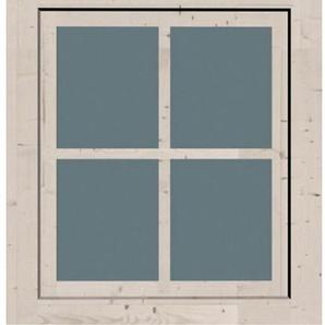 KARIBU Fenster BxT: 69x79 cm, 28 mm