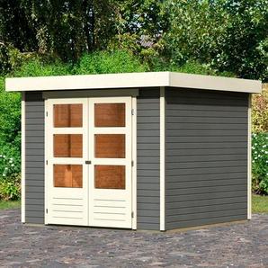 Karibu Gartenhaus »Arnis 3,5«, BxT: 266x262 cm