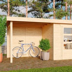 Karibu Gartenhaus »Arnis 3«, BxT: 491x238 cm, (Set)