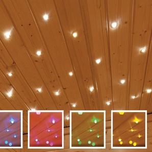 KARIBU Farblichtanwendung »Sternenhimmel«, für Karibu Saunen, inkl. Funkfernbedienung
