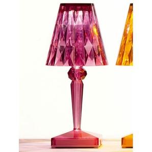 Kartell LED-Tischleuchte Battery lila, Designer Ferruccio Laviani, 22x13x13 cm
