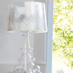 Kartell LED-Tischleuchte Bourgie transparent, Designer Ferruccio Laviani, 78 cm