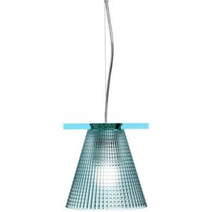 Kartell Light-Air, Hängelampen mit Prägung, Blau