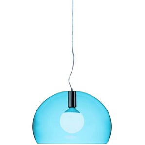 Kartell Small Fl/Y, Suspension Lamp, Petrolblau